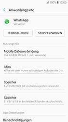 Samsung Galaxy A5 (2017) - Apps - Eine App deinstallieren - Schritt 6