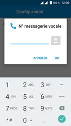 Crosscall Trekker M1 Core - Messagerie vocale - configuration manuelle - Étape 12