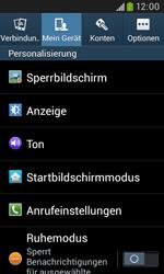 Samsung Galaxy Trend Plus - Anrufe - Rufumleitungen setzen und löschen - 5 / 12