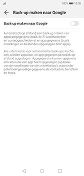 Huawei P20 - Android Pie - toestel resetten - back-up maken met jouw account - stap 8