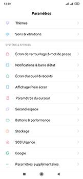 Xiaomi Mi Mix 3 5G - Téléphone mobile - Réinitialisation de la configuration d