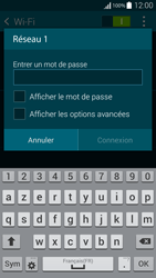 Samsung G850F Galaxy Alpha - Wi-Fi - Accéder au réseau Wi-Fi - Étape 7