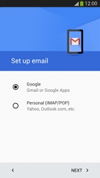 Samsung Galaxy S 4 LTE - E-mail - 032a. Email wizard - Gmail - Step 8