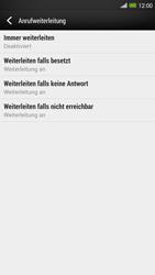 HTC One Max - Anrufe - Rufumleitungen setzen und löschen - Schritt 6
