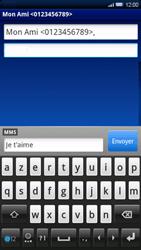 Sony Ericsson Xperia X10 - MMS - envoi d'images - Étape 8