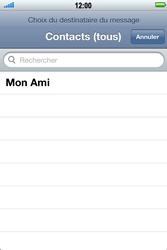 Apple iPhone 4 S - MMS - Envoi d