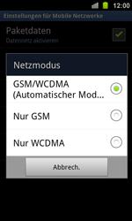 Samsung Galaxy Ace 2 - Netzwerk - Netzwerkeinstellungen ändern - 7 / 8