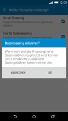 HTC One M8 - Ausland - Im Ausland surfen – Datenroaming - Schritt 8
