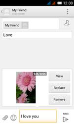 Alcatel OT-4033X Pop C3 - MMS - Sending pictures - Step 15