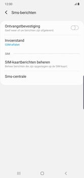 Samsung Galaxy Note 10 Plus - sms - handmatig instellen - stap 8
