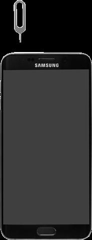 Samsung G928F Galaxy S6 edge+ - SIM-Karte - Einlegen - Schritt 2
