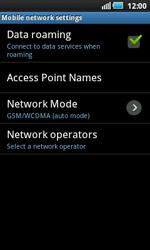 Samsung I5800 Galaxy Apollo - Internet - Manual configuration - Step 6