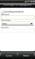 HTC Desire - E-Mail - Konto einrichten - 0 / 0