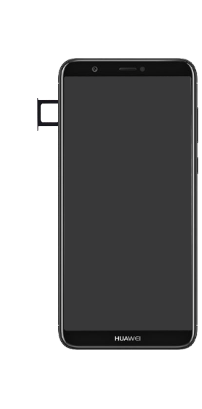 Huawei P Smart - SIM-Karte - Einlegen - Schritt 3