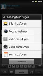 Sony Xperia S - MMS - Erstellen und senden - Schritt 15