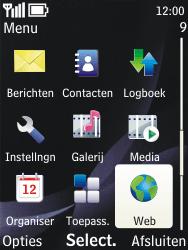 Nokia 3720 classic - internet - hoe te internetten - stap 2