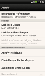 HTC Desire X - Anrufe - Rufumleitungen setzen und löschen - 4 / 8