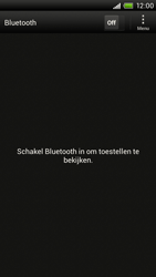 HTC T328e Desire X - bluetooth - aanzetten - stap 5