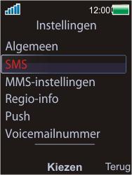 Sony W595 - SMS - Handmatig instellen - Stap 5
