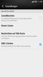HTC One Mini - SMS - Manuelle Konfiguration - Schritt 7