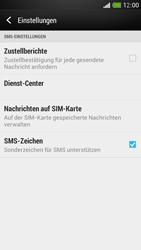 HTC One Mini - SMS - Manuelle Konfiguration - 0 / 0