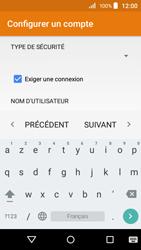 Acer Liquid Z320 - E-mail - configuration manuelle - Étape 16