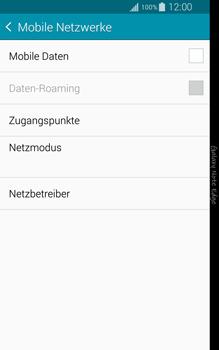 Samsung Galaxy Note Edge - Internet und Datenroaming - Prüfen, ob Datenkonnektivität aktiviert ist - Schritt 6