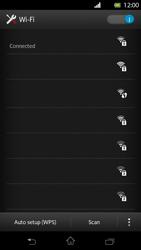 Sony Xperia T - WiFi - WiFi configuration - Step 8