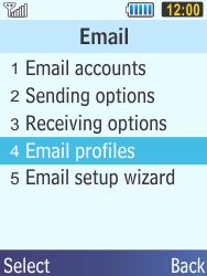 Samsung C3350 Xcover 2 - E-mail - Manual configuration - Step 6