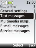 Nokia 2720 fold - SMS - Manual configuration - Step 5