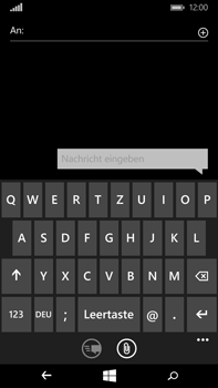 Microsoft Lumia 640 XL - MMS - Erstellen und senden - 7 / 17