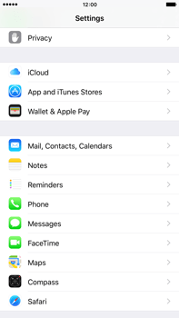 Apple iPhone 6 Plus iOS 9 - E-mail - manual configuration - Step 3