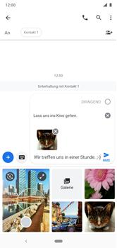 Nokia 6.1 Plus - Android Pie - MMS - Erstellen und senden - Schritt 20