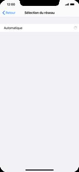 Apple iPhone XR - iOS 14 - Réseau - Sélection manuelle du réseau - Étape 6