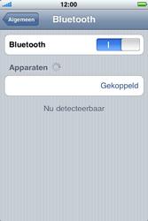 Apple iPhone 4 - Bluetooth - Headset, carkit verbinding - Stap 8
