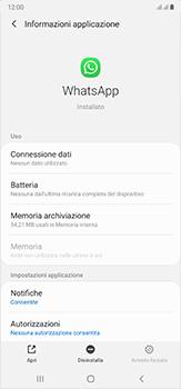 Samsung Galaxy Note 20 Ultra 5G - Applicazioni - Come disinstallare un