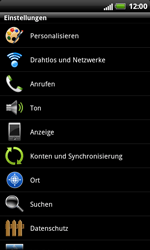 HTC Sensation XL - WLAN - Manuelle Konfiguration - 4 / 10