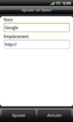 HTC A7272 Desire Z - Internet - Navigation sur Internet - Étape 5