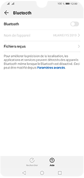 Huawei Y5 (2019) - Internet et connexion - Connexion avec un équipement multimédia via Bluetooth - Étape 6