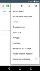 Sony Xperia XZ - Internet - navigation sur Internet - Étape 12