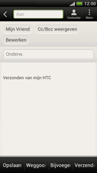 HTC Z520e One S - E-mail - E-mail versturen - Stap 7