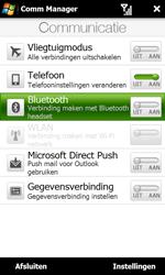 HTC T7373 Touch Pro II - bluetooth - aanzetten - stap 5