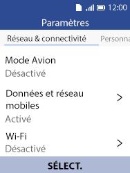 Alcatel 3088X - Internet et connexion - Activer la 4G - Étape 4
