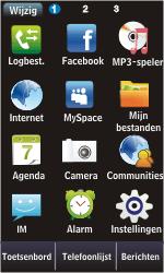 Samsung S5620 Monte - internet - handmatig instellen - stap 3