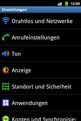 Samsung Galaxy Xcover - Ausland - Im Ausland surfen – Datenroaming - 6 / 12