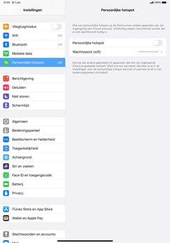 Apple ipad-pro-10-5-inch-met-ipados-13-model-a1709 - WiFi - Mobiele hotspot instellen - Stap 4