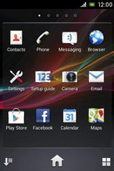 Sony C1505 Xperia E - Voicemail - Manual configuration - Step 3