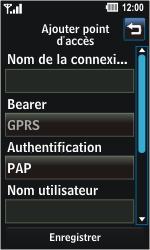 LG GD510 Pop - Internet - Configuration manuelle - Étape 6