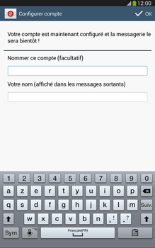 Samsung T315 Galaxy Tab 3 8-0 LTE - E-mail - Configurer l