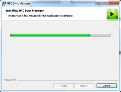 HTC One SV - Software - Installing PC synchronisation software - Step 7